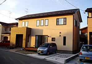 秋田市新藤田の家