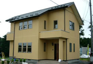 秋田市新屋の家