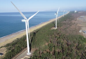 三種風力発電所建設工事